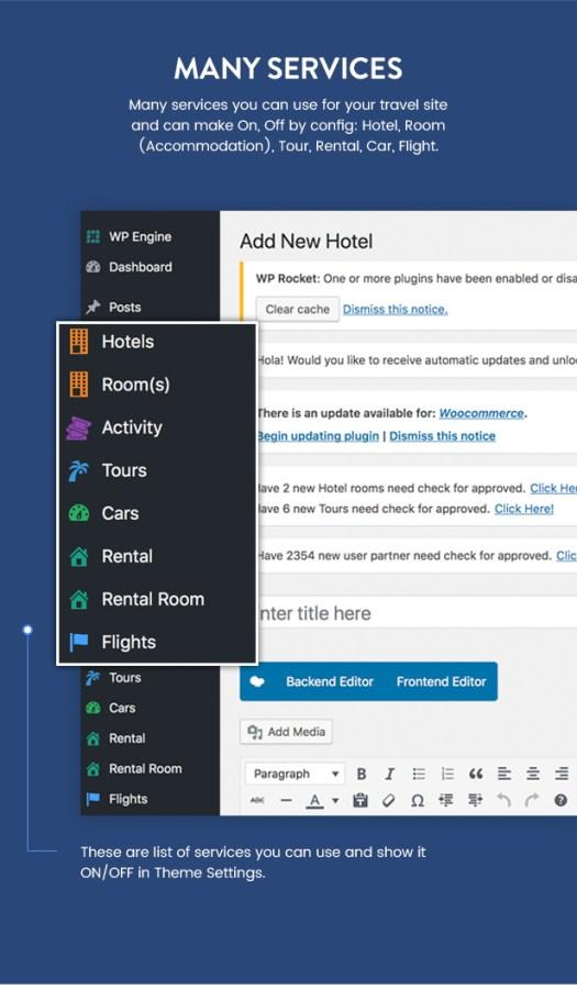 Travel Booking WordPress Theme - 19