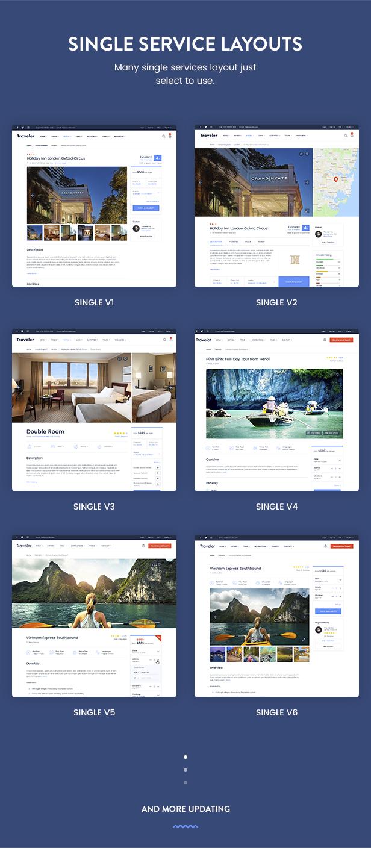 Travel Booking WordPress Theme - 22