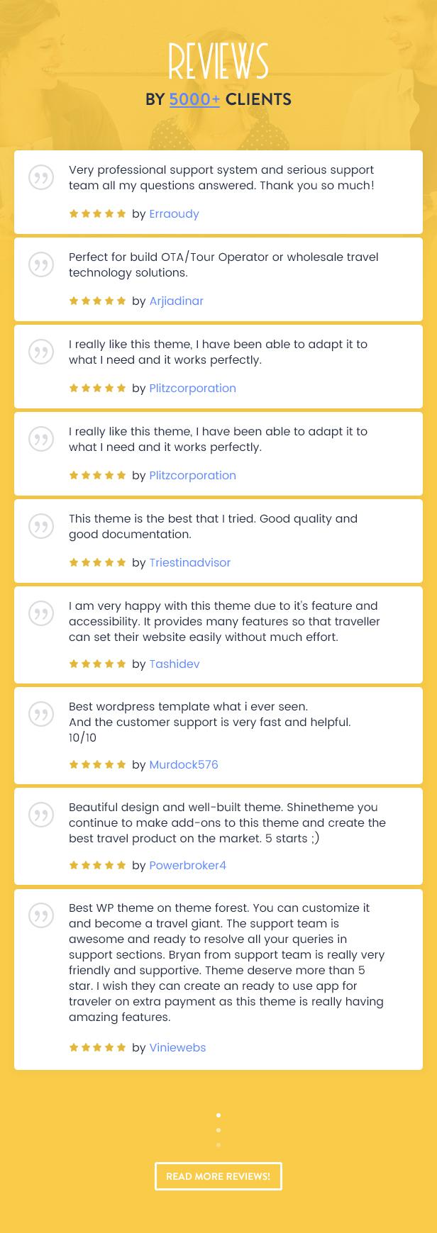 Travel Booking WordPress Theme - 31