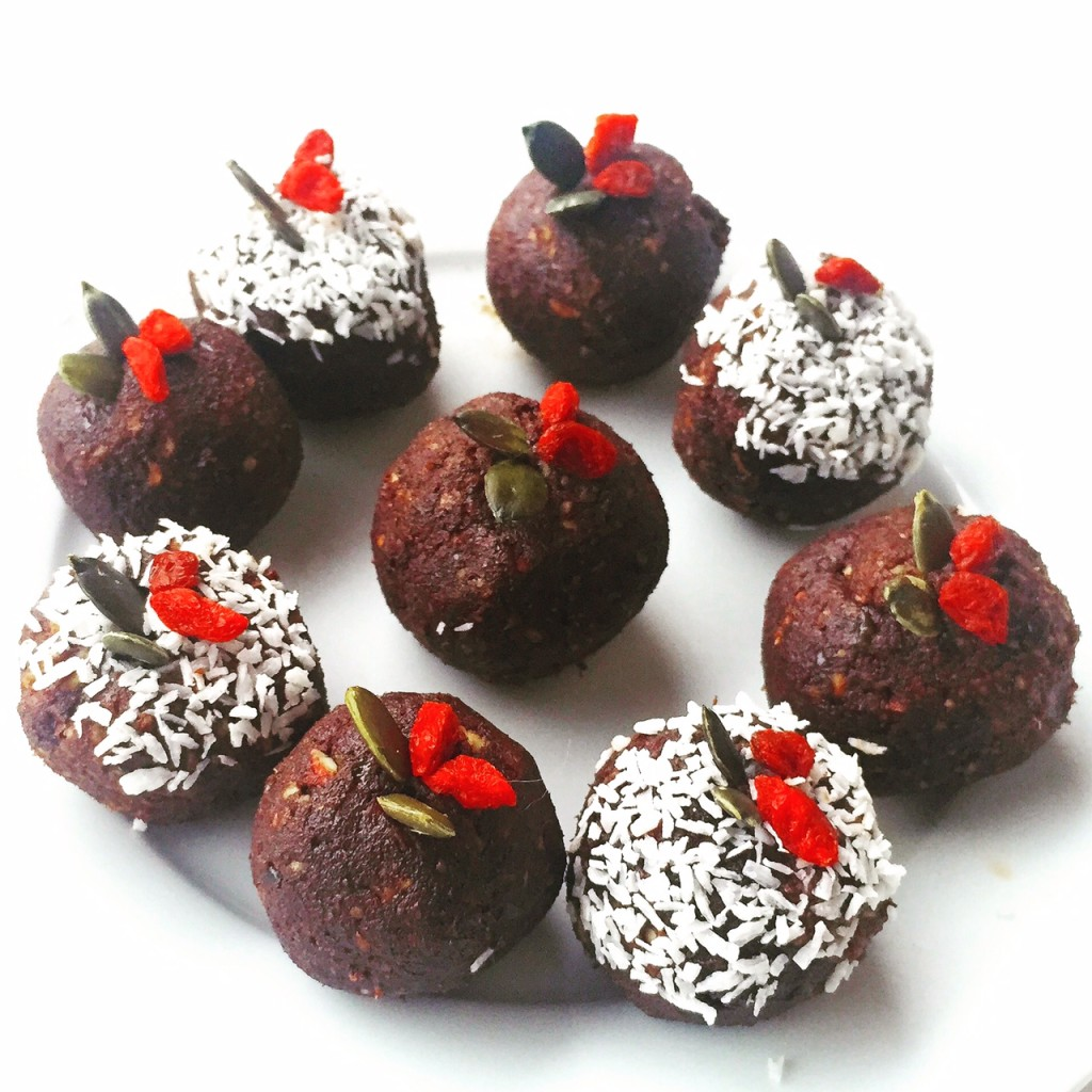Christmas Bliss Balls Recipe