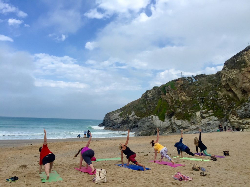 Yoga Newquay & Beach Yoga