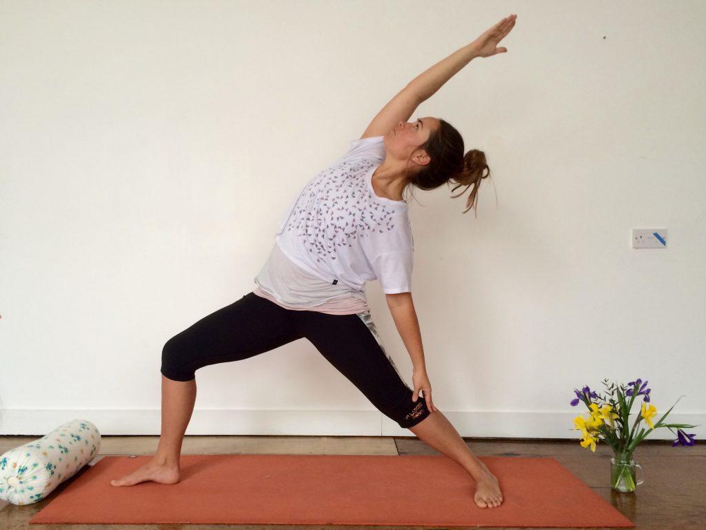 Dancing Warrior Vinyasa Flow Yoga Sequence Reverse Warrior