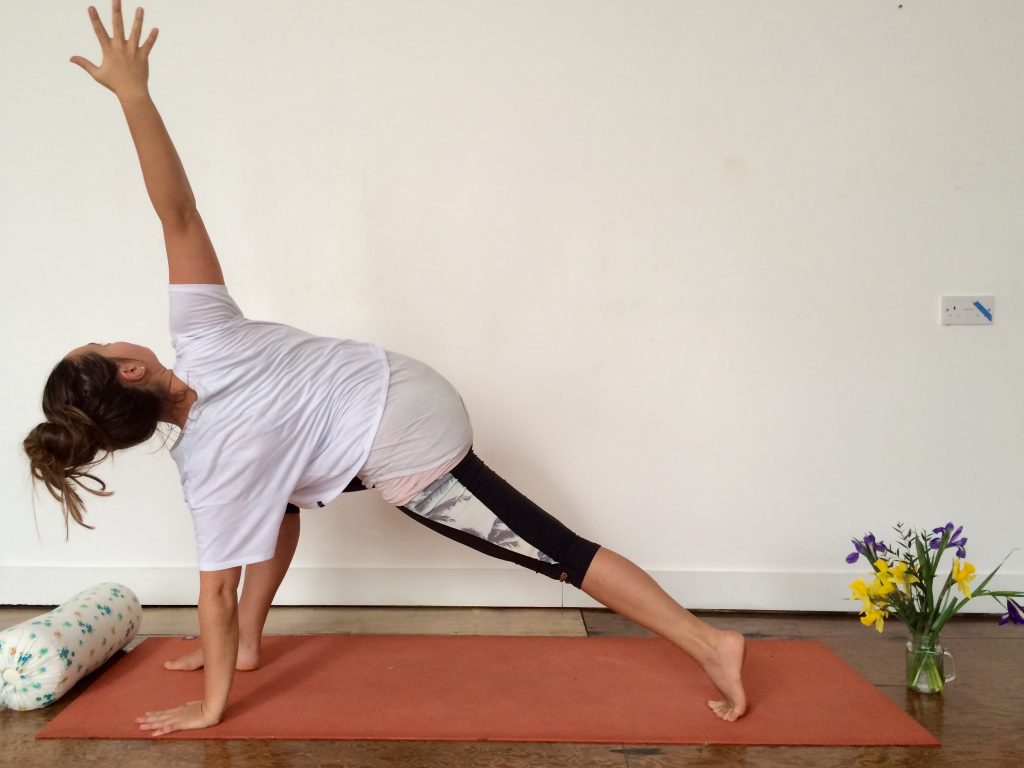 Dancing Warrior Vinyasa Flow Yoga Sequence with twist