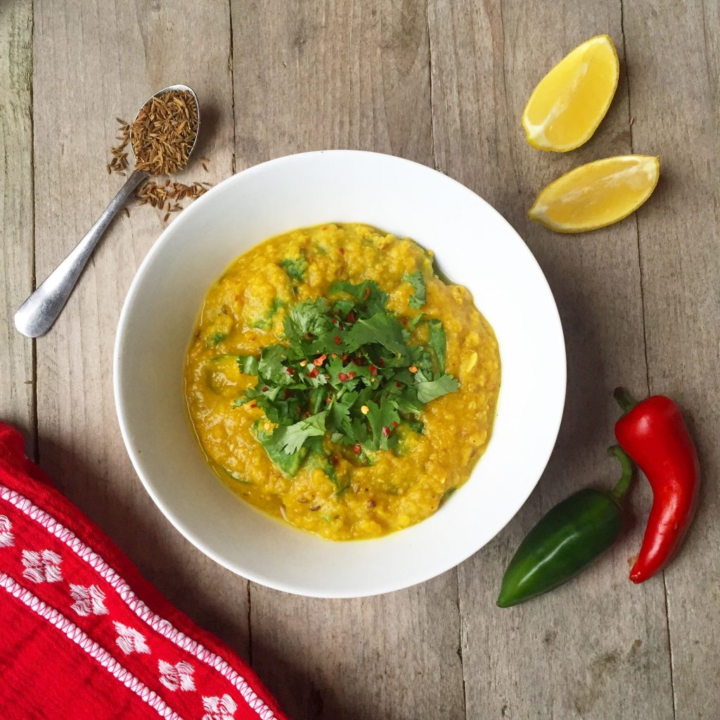 Best Ever Spicy Red Lentil Dal Recipe! (Vegan)