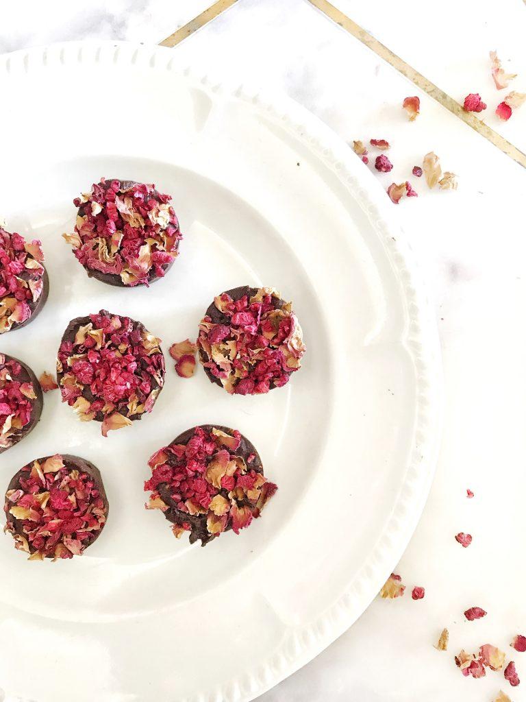 Raspberry and Rose Raw Chocolate Recipe