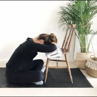A Restorative Yoga Sequence To Do at Home (With No Props)