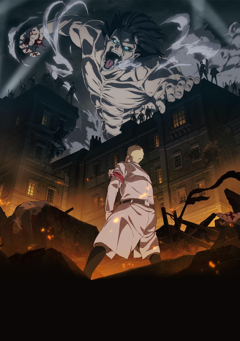 Shingeki no Kyojin The Final Season PV, Staff and Cast Revealed