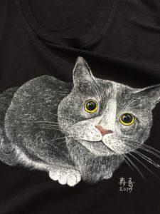 手描きtシャツ