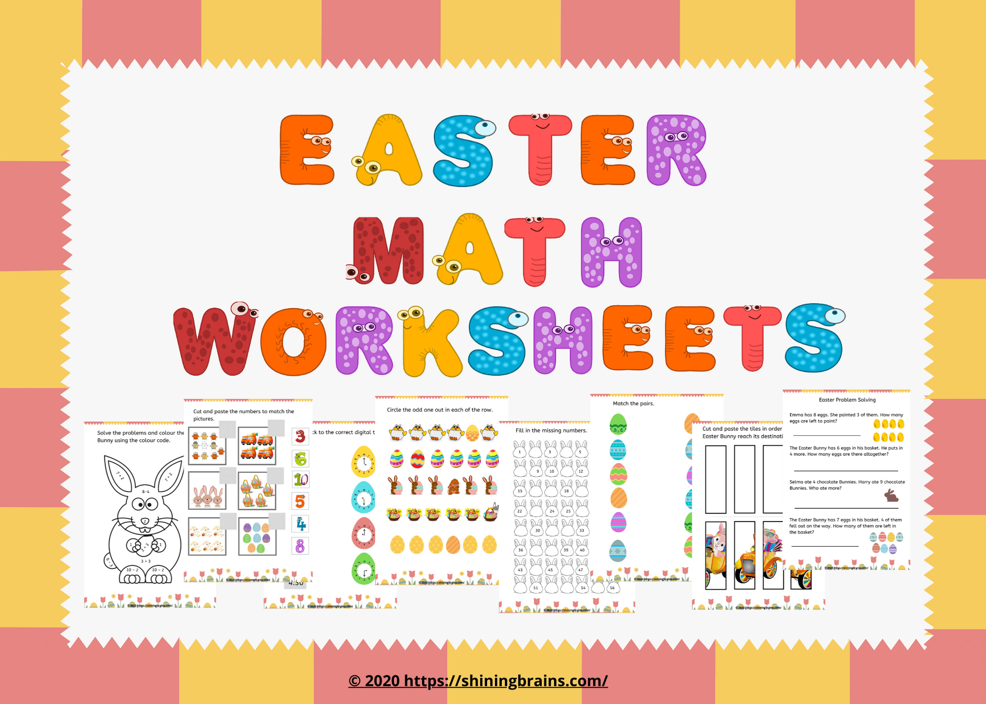 Easter Free Worksheets