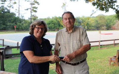 Inaugural Shining Hope Farms Service Awardfor Volunteerism
