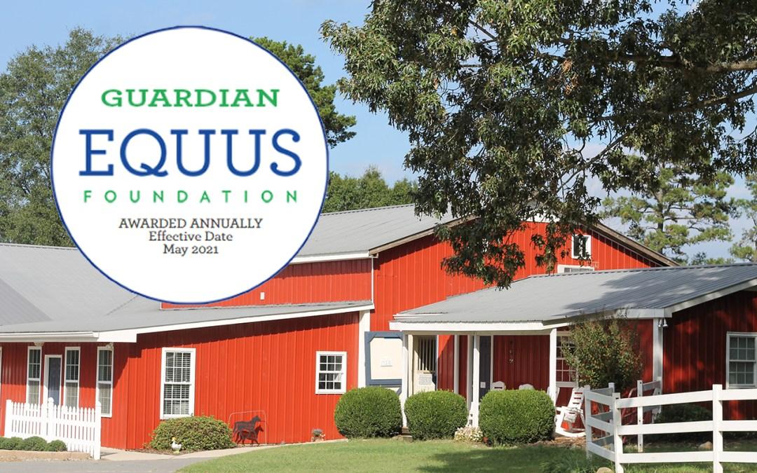 Equus Guardian 2021 Designation