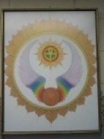 Shining Lotus Soul Seal painting