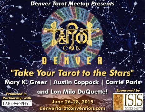 Denver Tarot Convention SL ad April