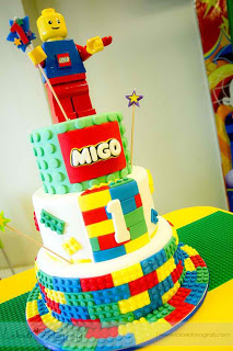 Lego City Theme Party {Migo's First Birthday}