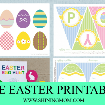 Free Printable for Your Easter Party!