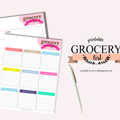 You might need this FREE printable grocery list!