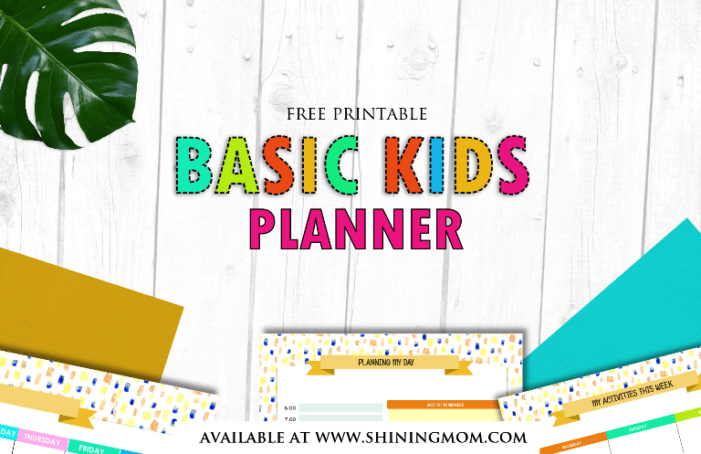 free printable kids planner - Free Printable Pictures For Kids