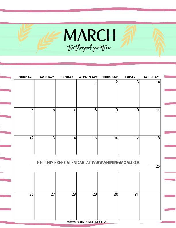 cute-march-2017-printable-calendar
