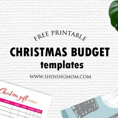 Free Printable Christmas Budget Forms