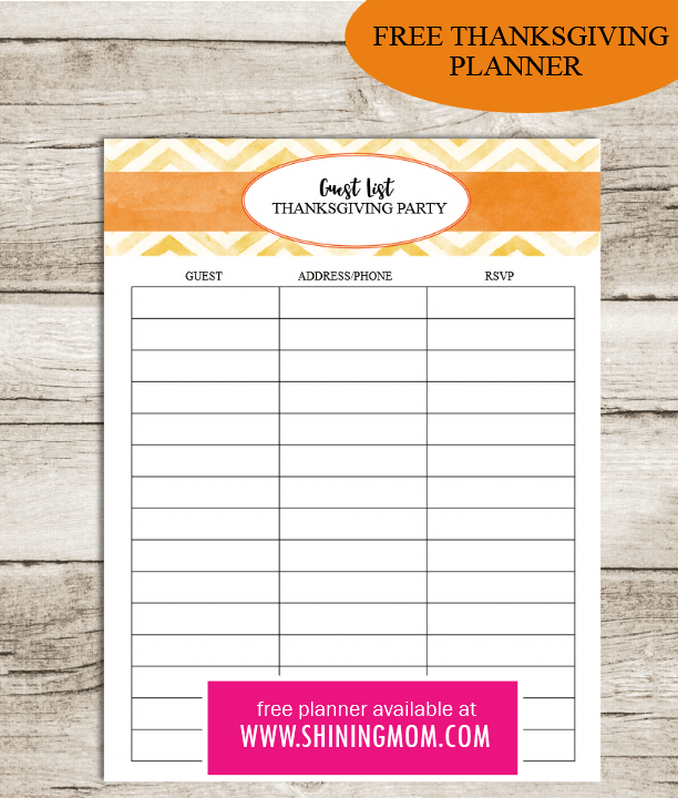 free-thanksgiving-planner