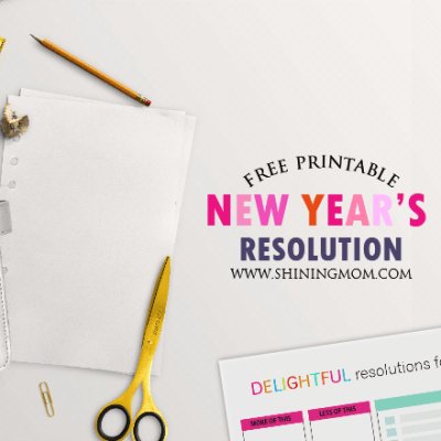 Write Your New Year's Resolution Here!