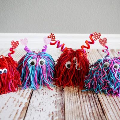 Best of Pinterest: 40+ Super Fun Valentine's Day Crafts for Kids