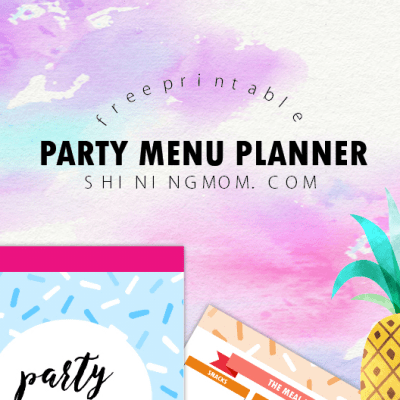 How to Plan Your Menu for Your Kid's Birthday Party
