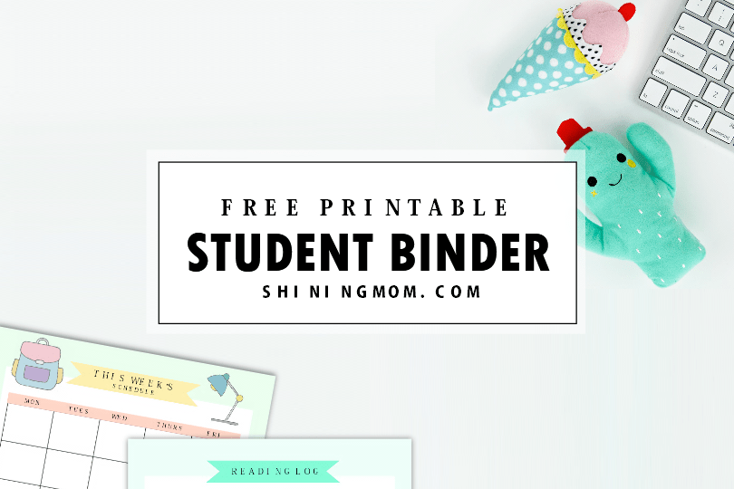 Free Printable Student Binder: Over 25 Excellent Planning Pages!
