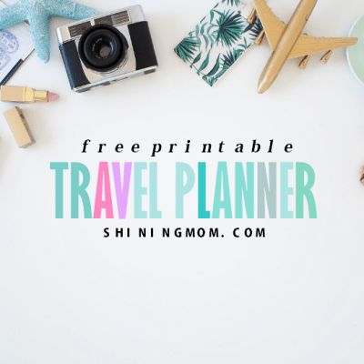 15 FREE Trip Planner Printables for Your Next Vacation!