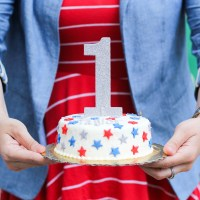 A Red, White & Blue First Birthday Party