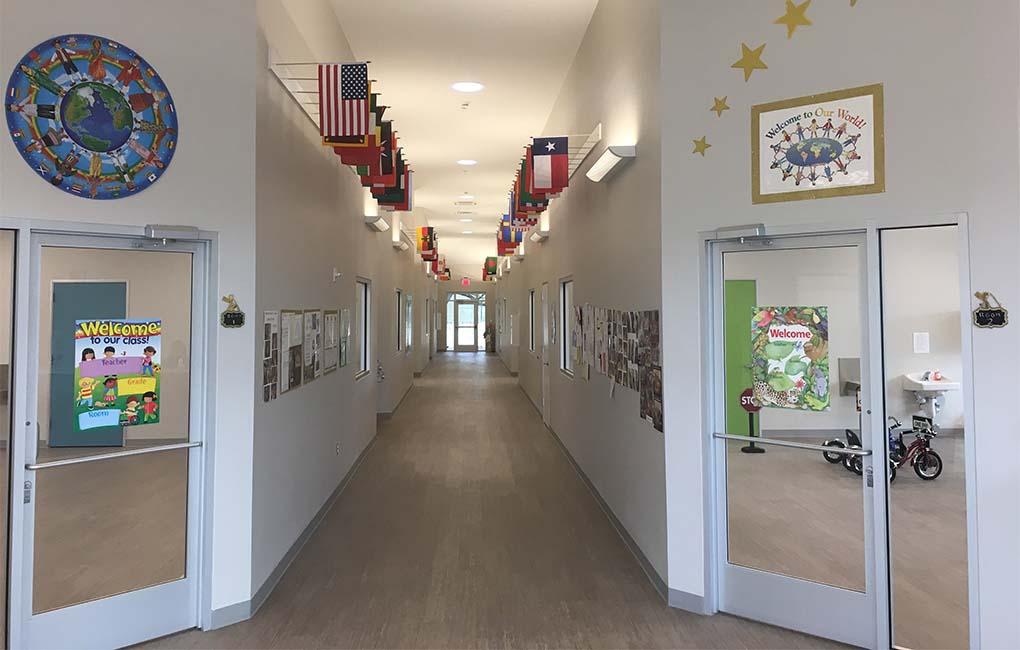 Shining Stars Montessori School Hallway