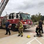 Firetruck Visit