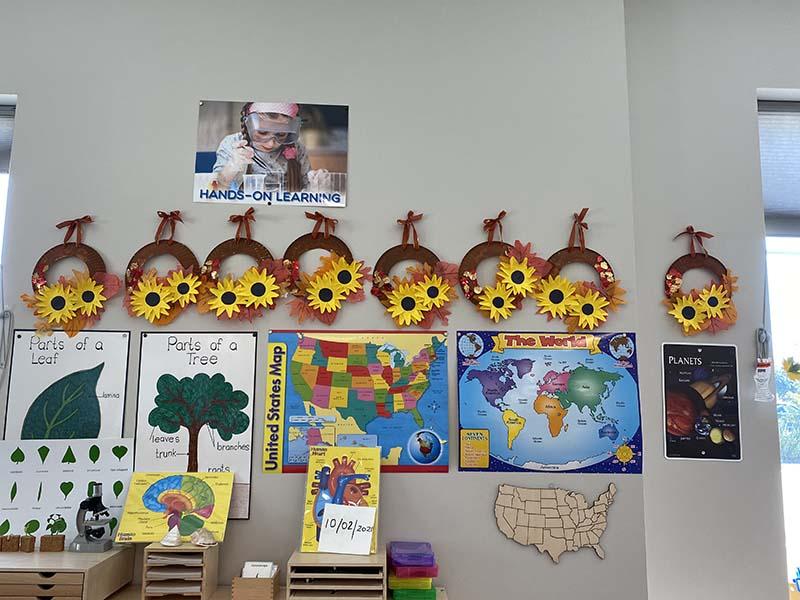 Children's Artwork from Shining Stars Montessori School