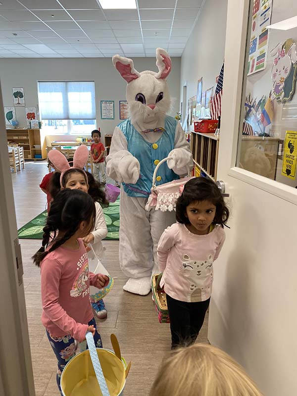 Easter Celebration 2021 at Shining Stars Montessori School in Austin TX