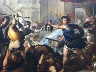 Painting Perseus