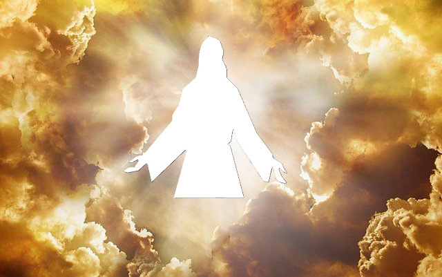 Jesus Coming In Clouds
