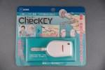 自分の鍵をかけたことの記憶をサポートするChecKEY(チェッキー)を使ってみました。