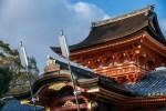 あけましておめでとうございます。今年最初は石清水八幡宮に初詣。