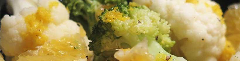 recipe: cauliflower and citrus salad