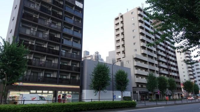 北新宿1丁目マンション新築工事