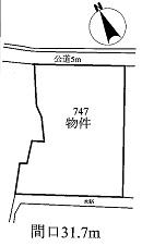 土地4,300万円 美濃加茂市 市橋