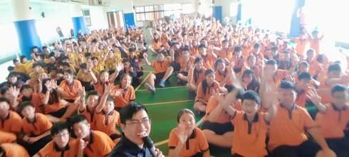 【生涯教育講座】新北市樹林三多國中 夢想神攝手 講師:吳鑫