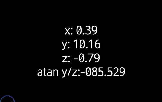 【JAVA】Processing android スマホ用Program<回転角度表示できた>