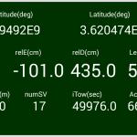 【L-RTK】スマホRTK-Monitorバージョンアップrev06備忘録<衛星数とiTow追加>