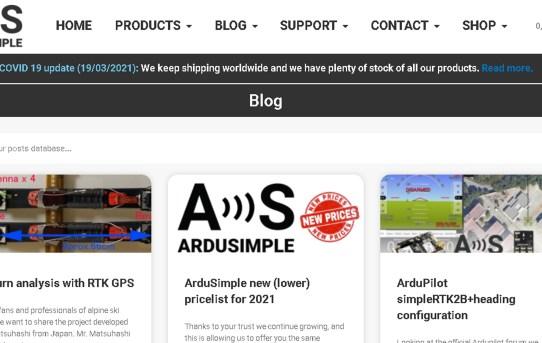 【RTK21】ArduSimple社ブログに開発中のSTA記事掲載された<コト作りの成功>