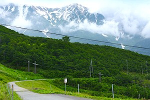 黒菱林道(黒菱ライン)