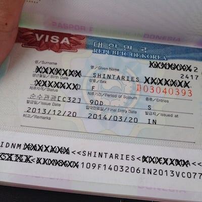 Pertanyaan tentang Visa Korea