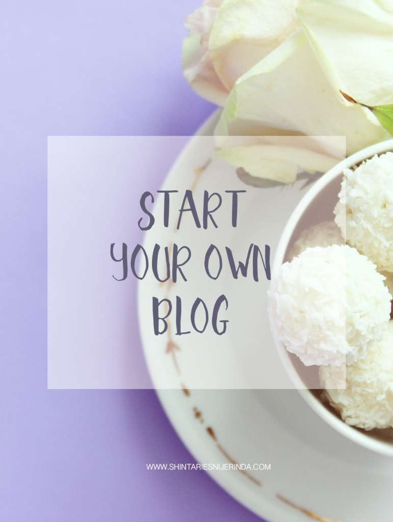Start Your Own Blog?