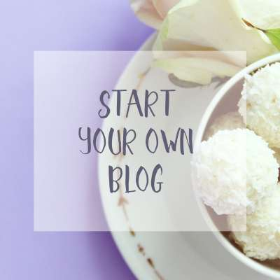 Start Your Own Blog?