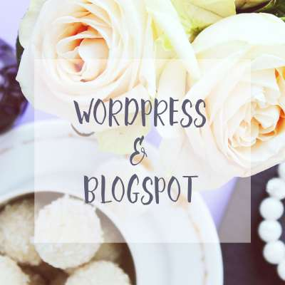 WordPress Blog & Blogspot (Study Case)